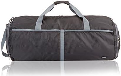 [スポンサー プロダクト]Amazonベーシック ボストンバッグ 折りたたみトラベルダッフルバッグ