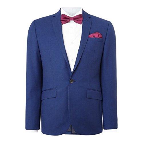 [ケネスコール] メンズ ジャケット&ブルゾン Jefferson Slim Fit Birdseye Textured Sui [並行輸入品] B07F34WCBS 44l