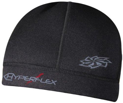 Hyperflex Wetsuits Unisex Cap (Black, Medium) - Surfing, Windsurfing & Kiteboarding