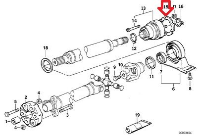 BMW 26-11-1-229-503 Auto part