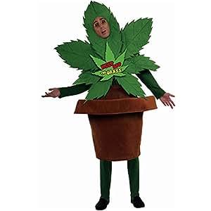 Disfraz de planta marihuana