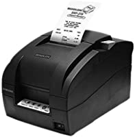 Bixolon SRP-275II, Impact Receipt Printer, Ethernet, Serial Interfaces Auto-cutter Black SRP-275IICEPG