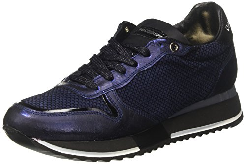 DAcquasparta Damen Bianca Low-Top Blau (Bacio)