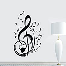 New Fashion Vinyl Music Note Notes Decal Wall Sticker Home Arts Decor Wall Decoration Hot by Soooku