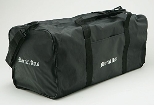 Martial Arts Bag Taekwondo Sparring Gear Equipment Bag Karate MMA Size 10''x26''x10'' by Moonstar Martial Arts