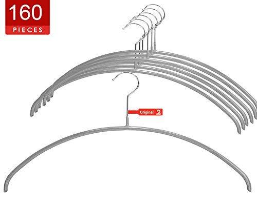 MAWA 14147 Clothing Hanger Silver [並行輸入品] B07NBCWFWZ