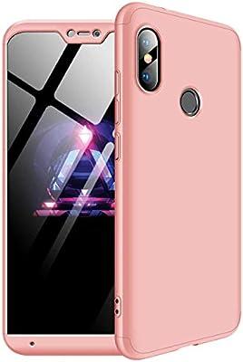 MYLBOO Funda Xiaomi Mi A2 Lite,[3 en 1] 360 Grados de protección ...