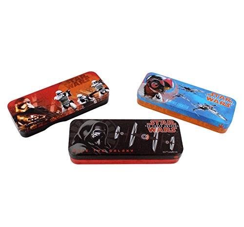 Star Wars Tin Pencil Case or Storage box - Styles May Vary