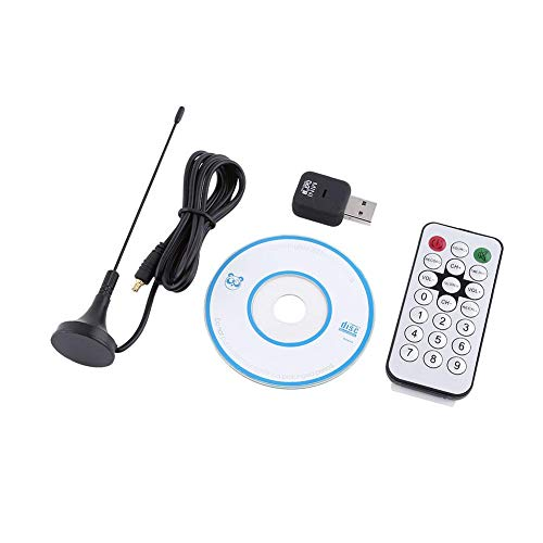 Tosuny USB DVB-T Digital TV Receiver,DVB -T Tuner Stick OSD MPEG-2 MPEG-4 Compatible for Laptop and PC,10 Bit Video Decorder,Built-in Stereo Audio ADC, 3.0 Compression Engine