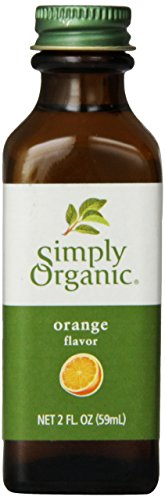 - Simply Organic Orange Flavor Certified Organic, 2-Ounce Container