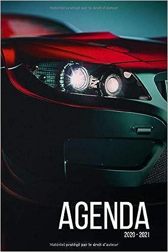 Agenda 2020 2021: Agenda scolaire journalier voiture sport tuning