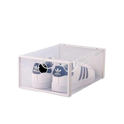 Impilabile Pezzi Box Di 6 Plastica Da Scatola Storage Trasparente O8Pwn0k