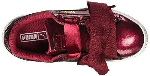 Heart Glam Unisex Niños Zapatillas tibetan tibetan Ps Puma Red Rojo Basket Red fq51TT