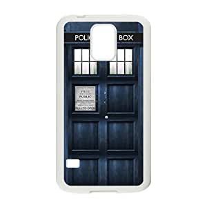 JIANADA Doctor Who's TARDIS Cell Phone Case for Samsung Galaxy S5