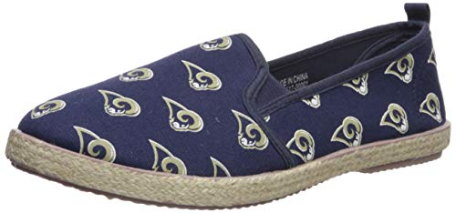 Los Angeles Rams Espadrille Canvas Shoe - Womens Medium