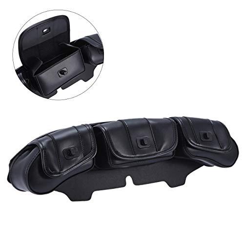 INNOGLOW 3 Pocket Fairing Windshield Bag For Harley Electra Street Glide - 3 Pocket Bag Windshield