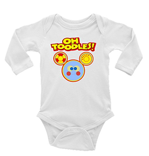 Oh Toodles Mickey Mouse Club Long Sleeve Unisex Onesie (Mickey Mouse Toodles)