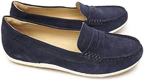 ジェオックス 靴 レディース ローファー モカシン D92DNA スリッポン レザー フラットシューズ ローヒール 蒸れない GEOX D VEGA MOC A C2112 C4000 C6738 C7008