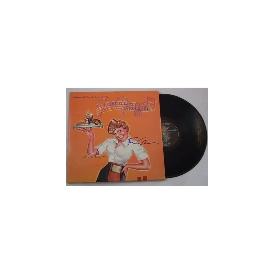 George Lucas Francis Ford Coppola American Graffiti Signed Autographed Motion Picture Soundtrack Lp Record Album with Vinyl Framed Loa Collectibles & Fine Art