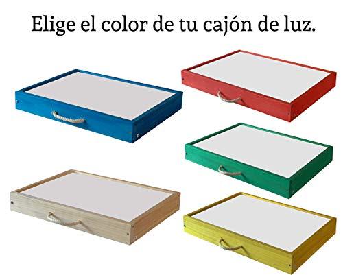 Mesas de luz Montessori con Certificado de Calidad emitido ...