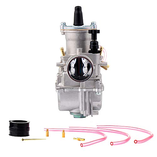 ECCPP PWK 30mm Power Jet Carburetor 30mm Replacement Motorcycle Carburetor Fit For Yamaha/Amen Chassis Works/Benelli/CC Cycles/Ducati Dirt Pit Bike, ATV, Go Kart, Motorcycle, Scooters