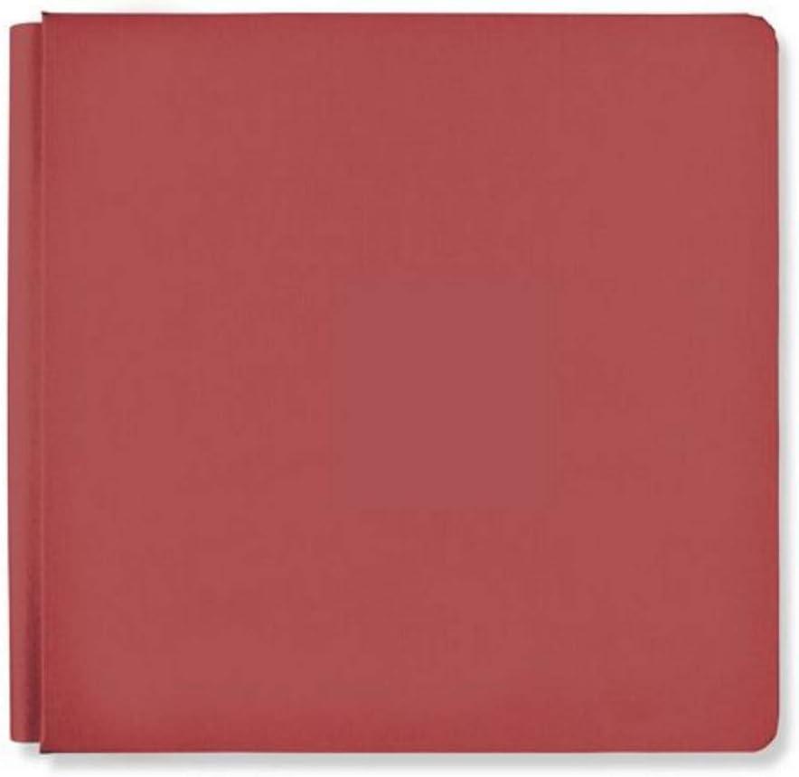Creative Memories 12x12 Currant Red Rainbow Rush Album Scrapbook Cover 12x12 True Size