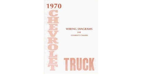 1970 chevrolet truck, blazer, suburban & pickup complete 8 wiring diagram 1970 chevy blazer 1970 blazer wiring diagram #6