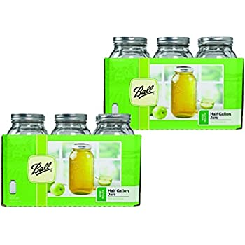 Ball 64 ounce Jar, Wide Mouth, Set of 12
