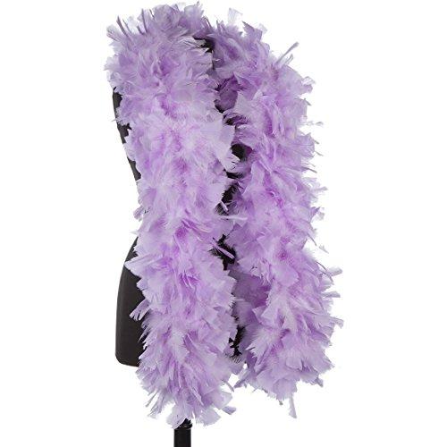 Lilac - Violet 150 Gram Turkey Feather Boas - DreamAngels