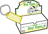 HY-KO PROD Office Storage Accessory , 100 Pack ID Key Tag/Chain (KB140-100)