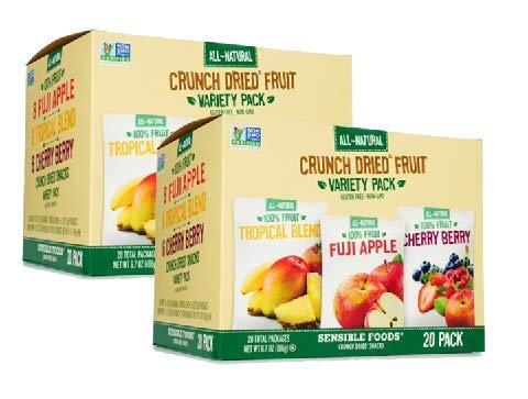 Sensible Foods Crunch Dried Fruit, 20 Count (2 Boxes) by Sensible (Image #6)