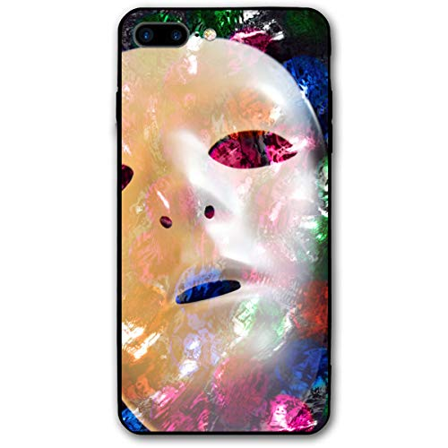 BaiRIhe iPhone 8 Plus &iPhone 7Plus Case Two Faces Masks Sturdy Phone Cover Cases Shockproof Protective ()