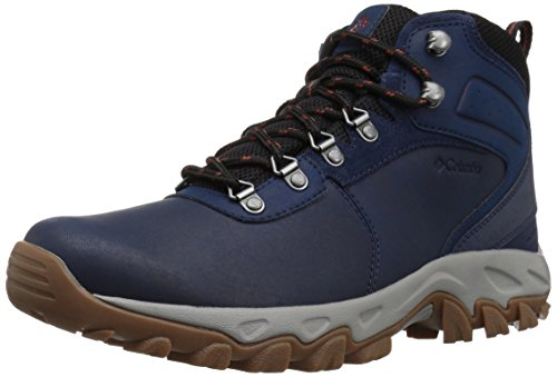 Picture of Columbia Men's Newton Ridge Plus II Waterproof Ankle Boot, Collegiate Navy, Rusty, 11.5 Regular US