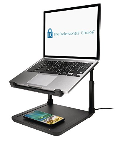 Kensington SmartFit Ergonomic Laptop Riser for up to 15.6-Inch Laptops with Qi Wireless Phone Charging Pad by Kensington (Image #9)