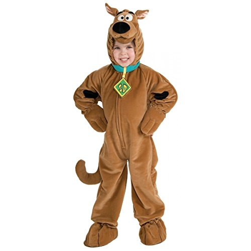 Scooby Doo Toddler and Boys Kids Deluxe Plush Velour Jumpsuit Costume (Toddler) for $<!--$29.95-->