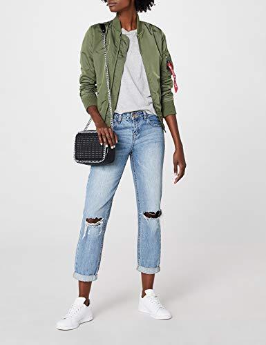 Femme 01 green Blouson sage Grün Alpha gq5aFwq