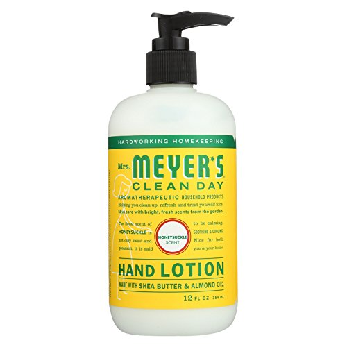 (Mrs.meyers Clean Day Hand Lotion - Honeysuckle - Case Of 6 - 12 Fl Oz)