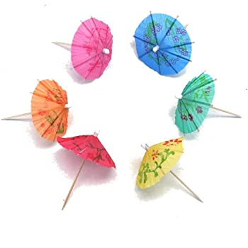 Fun Express Paper Cocktail Drink Parasols