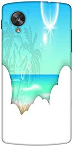 Snoogg Abstract Summer Background Designer Protective Back Case Cover For Goo...
