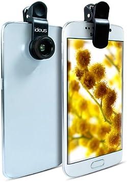 LG port/átil para iPhone iPad y Android con Clip Samsung Lente Universal para Smartphone Orlegol Huawei HTC Kit de Lente de tel/éfono m/óvil 10 en 1