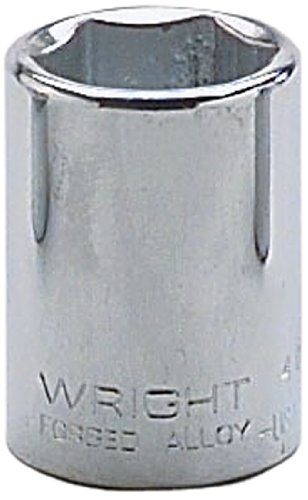 Wright Tool 4024 3/4-Inch – 1/2-Inch Drive 6-Point Standard Socket