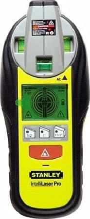 Stanley 0-77-500 - Detector de madera, metales y corriente eléctrica IntelliLaserTM Pro: Amazon.es: Bricolaje y herramientas
