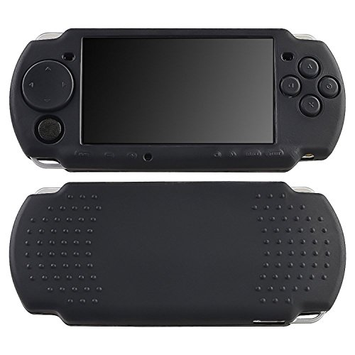 CommonByte Black Rubber Soft Silicone Skin Gel Case Cover For Sony PSP 3000 USA Seller (Sony Psp Slim Silicone)
