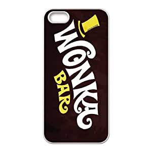 Willy Wonka Golden Ticket Chocolate Bar iPhone 4 4s Cell Phone Case White xlb-286013