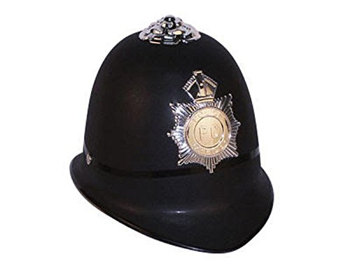 [Oliasports English Bobby Helmet Kids Costume Accessory Police Hat] (British Police Hat Costume)