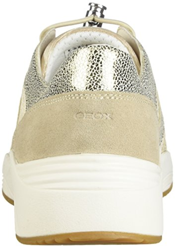 Women Geox Sneakers D820SD Yellow 0QD15 qwPTBR