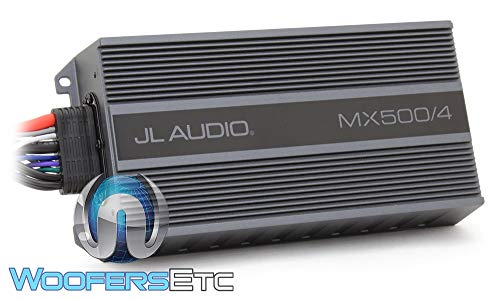 Jl audio MX500/4 Amplifier Compact Marine/Powersports 500watt (Jl Audio 4channel Amp)