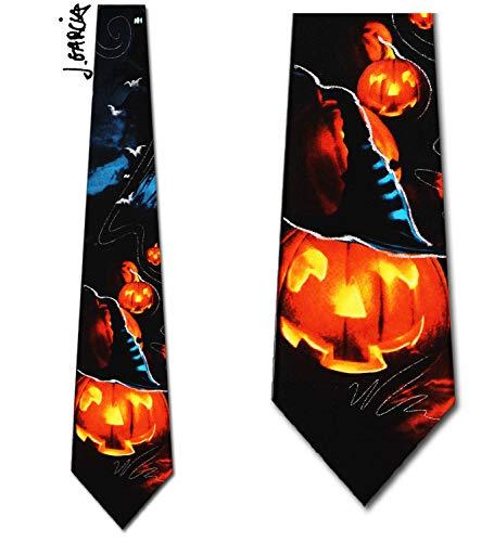 Jerry Garcia (Beehive - Halloween) Tie Mens Necktie -