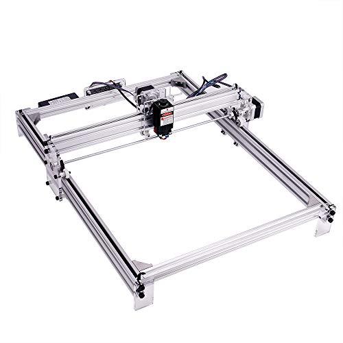 MYSWEETY DIY CNC Laser Engraver Kits, 40x50cm 2500mW Wood Carving Engraving Cutting Machine Desktop Printer Logo Picture Marking, 2 Axis by MYSWEETY (Image #2)