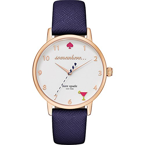 Kate Spade Watches Metro Watch (Blue)